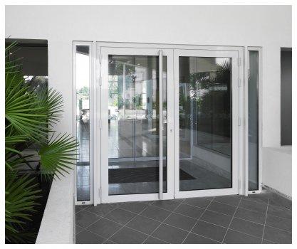 Porte aluminium gamme 70mm - Sepalumic